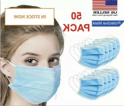 10 Masks Face Mask Mouth & Nose Protector Respirator Masks w