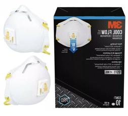 10 PACK 3M 8511 N95 Dust Particulate Respiratory Protection