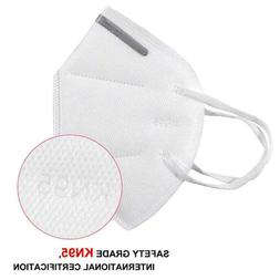 10 PCS KN95 Disposable Face Mask Mouth Cover Protective Resp