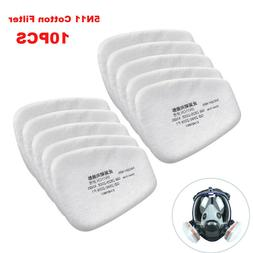 10X 5N11 Cotton Filter Safety Protect Replacement for 6200 6