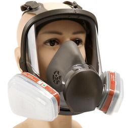 15 in 1 6800 Full Face Gas Mask Facepiece Respirator for Pai