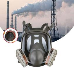 15 in 1 Facepiece Full Face Gas Mask Filter Respirator Paint
