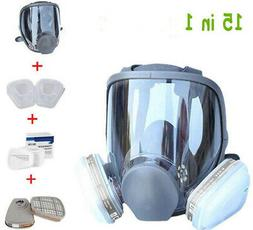 15in1 Suit Full Face For 6800 Gas mask Facepiece Respirator