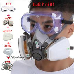 16 in1 Safety Painting Spray For 3M6200 Half Face Respirator
