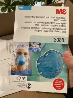 3M 1860S N95 Particulate Respirator and Surgical Mask Box of