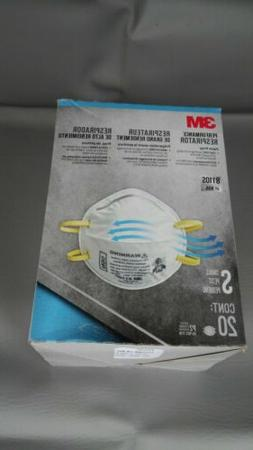 20ea particulate respirator mask 8110s n95 small