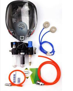 3In1 Paint Supply Air Fed Respirator System 6800 Full Face G
