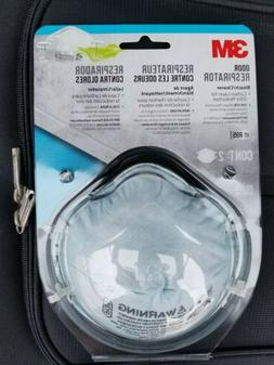 3M R95 8247 Respirator Face Mask Carbon Odor Filter NIOSH C