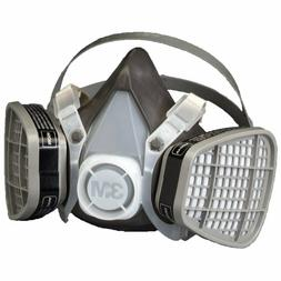 3M 53P71 Half Facepiece Respirator Assembly Dust Paint Mask