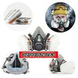 Protective 6200 Half Face Gas Mask Respirator Painting Spray