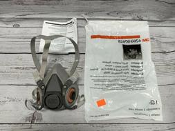 3M 6200 HALF FACEPIECE REUSABLE RESPIRATOR SIZE MEDIUM STOP