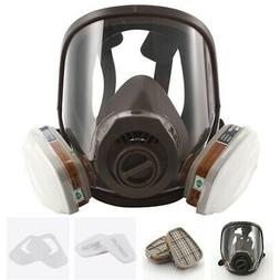 7in1 Full Facepiece Respirator Painting Spraying For 6800 Fu