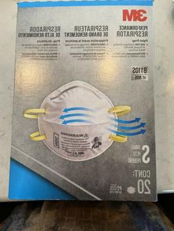 3M 8110S N95  Respirator Face Mask SMALL Child  Woman FAST G