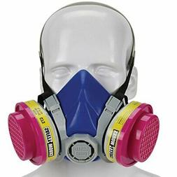 Msa Safety Works 817670 Half Mask Respirator - Multi-Purpose