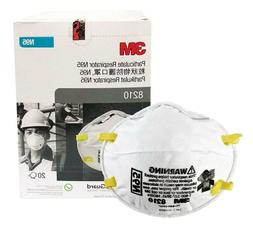 3M™ 8210 N95 Particulate Respirator Mask Box of 20 NEW WIT