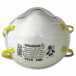 3M 8210 N95 Particulate Respirator W/Exhalation Valve mask,