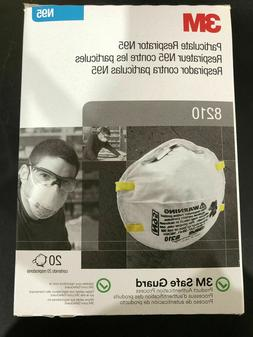 3M 8210 N95 Particulate Respiratory Masks  - Box Of 20 Coron