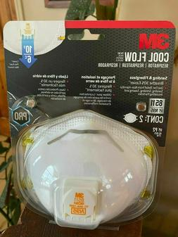 3M 8511 N95 Dust Respiratory Protection Half Face Mask IN ST