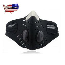 Air Purifying Face Mask Cover Anti Dust Respirator Half Face