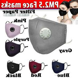 Air Purifying Mask carbon Filter Cotton Mouth Muffle Anti Ha