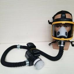 Rechargeable Air Supply Anti-Virus Filter Full Face Mask Air
