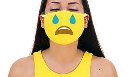 Cry Premium Cotton Pollution Filter Face Mouth Mask Respirat