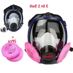 Double Use Filter mask Painting Spray For 3M6800 Full Face M