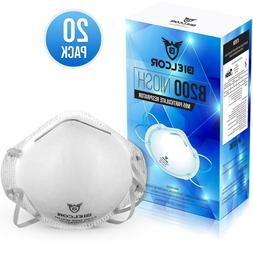 Dust Mask Disposable Respirator Masks Particulate Filtering