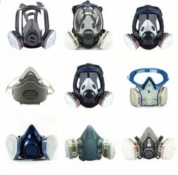 Full/Half Face Gas Mask Respirator Painting Spraying Safety