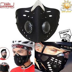 Half Face Respirator Mask Dust Proof Filtered Activated Carb