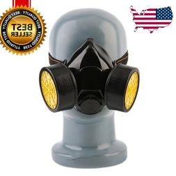 High Grade Anti-Dust Paint Respirator Mask Gas Safety Chemic