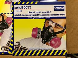 North Honeywell Silicone Half Mask 7700 Series Size Small