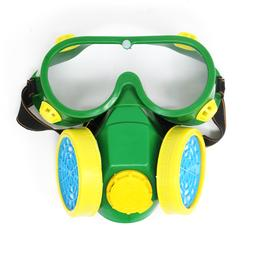 Industrial Gas Chemical Anti-Dust Paint Respirator with Gogg