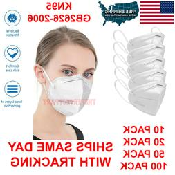 KN95 Protective 5 Layers Face Mask Disposable Mouth Cover PM