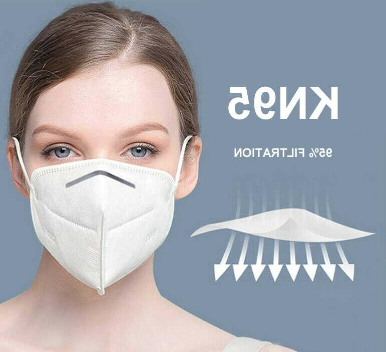 10 Pack KN95 Mask Protection Masks 5-Layer
