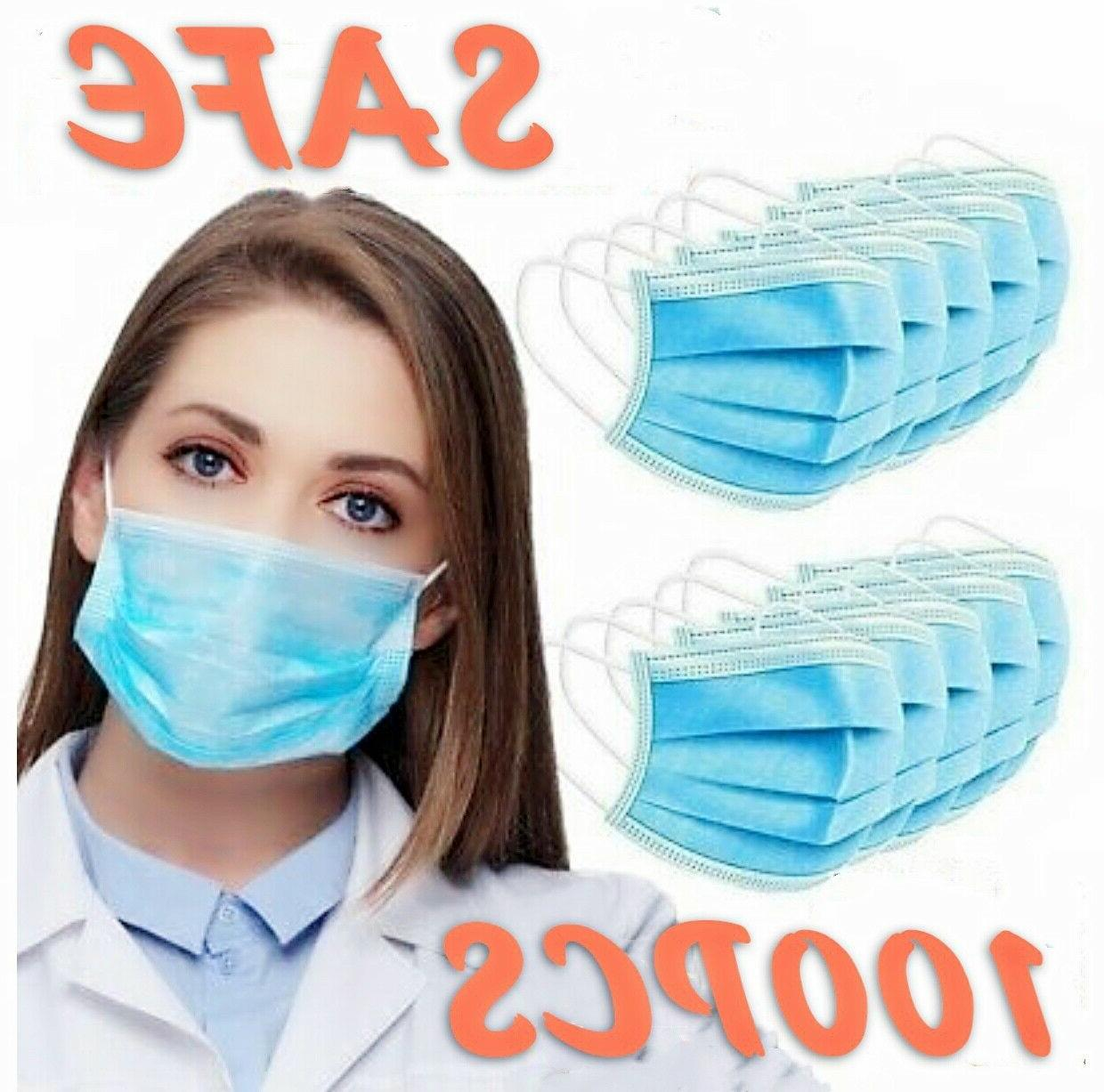100 Mask Mouth Protector Respirator Filter
