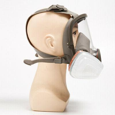 For Facepiece Respirator Full Gas Mask Filter 7 IN 1