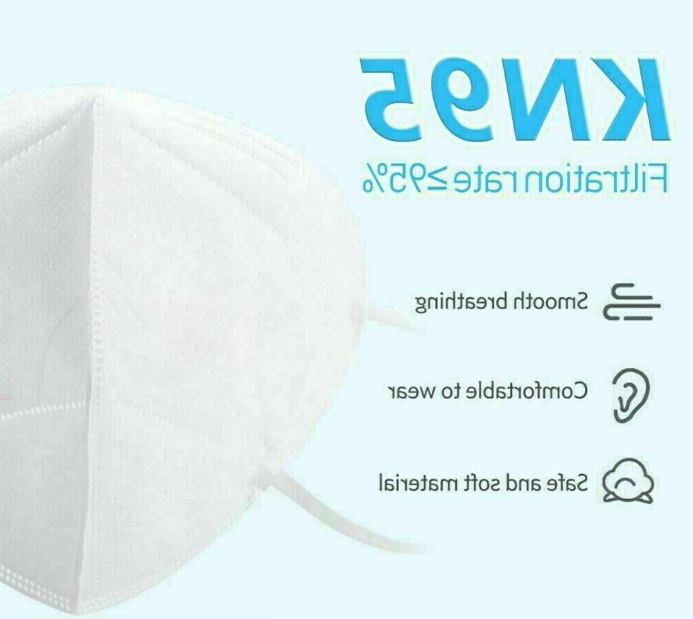 50pc KN95 Respirator Safety Cover PFE