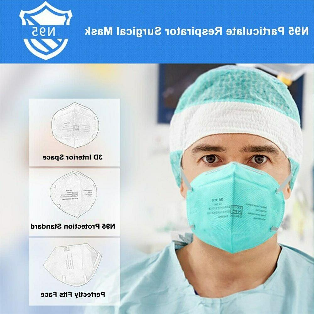 5Pack 3M 9132 N95 Healthcare Particulate Mask Approved