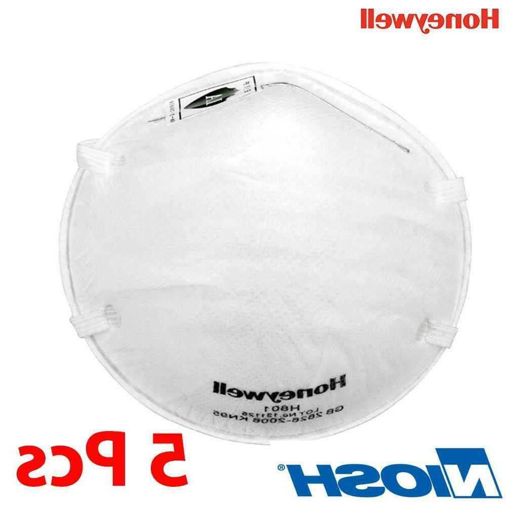 5pcs h801 kn95 n95 face mask particulate