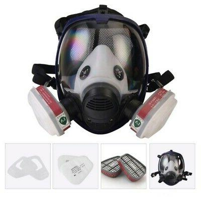 6800 Full Face GasMask 7 in 1 Facepiece Respirator for Paint