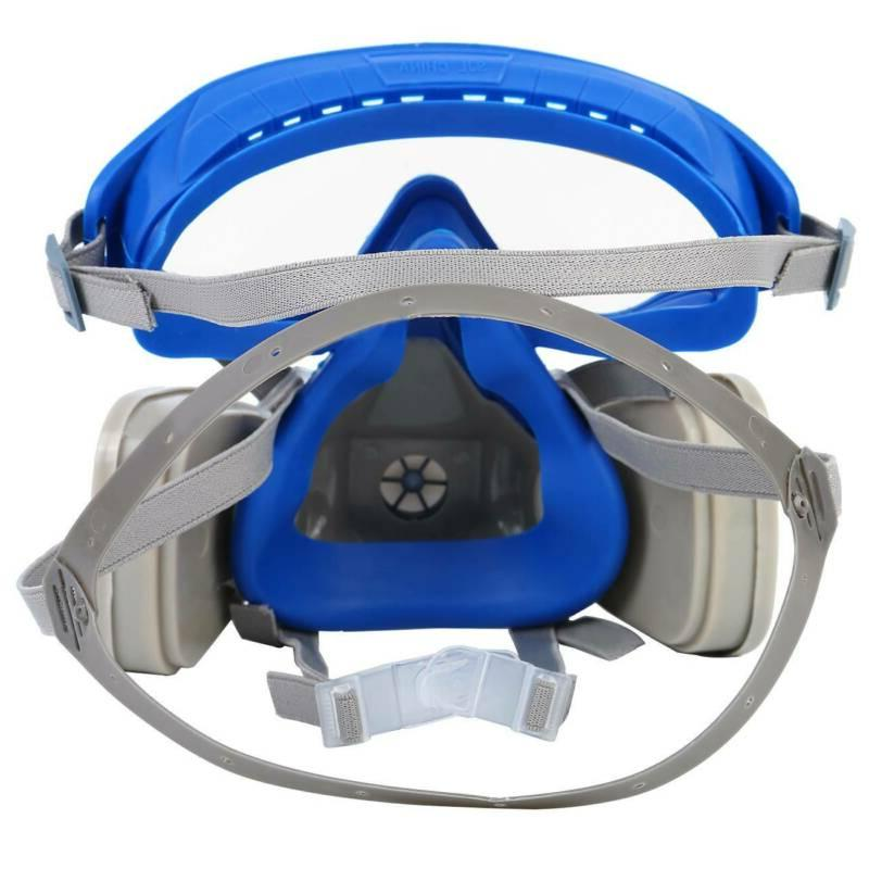 Double Respirator Air Breathing Chemical and