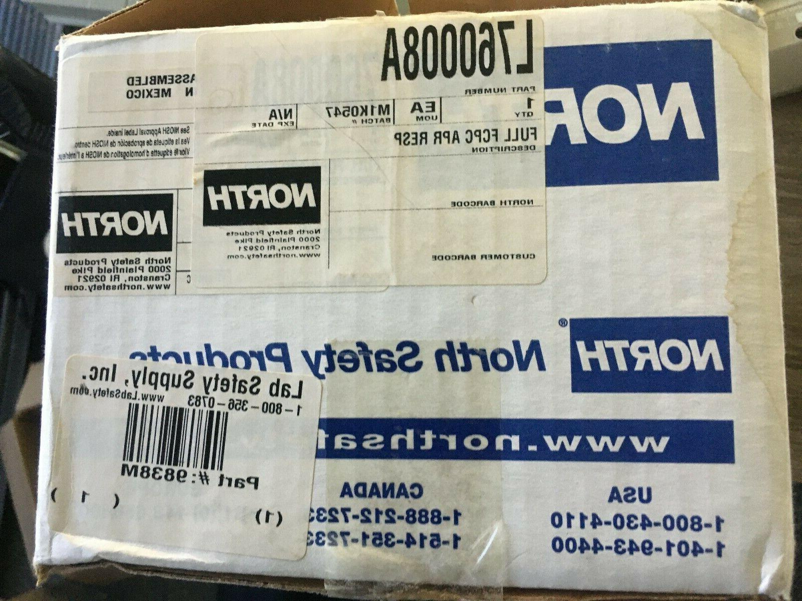 by honeywell l760008a 760008a full face respirator
