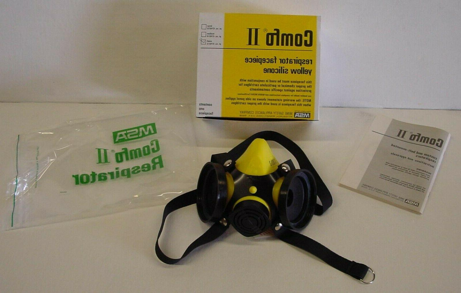 comfo ii respirator small facepiece black works