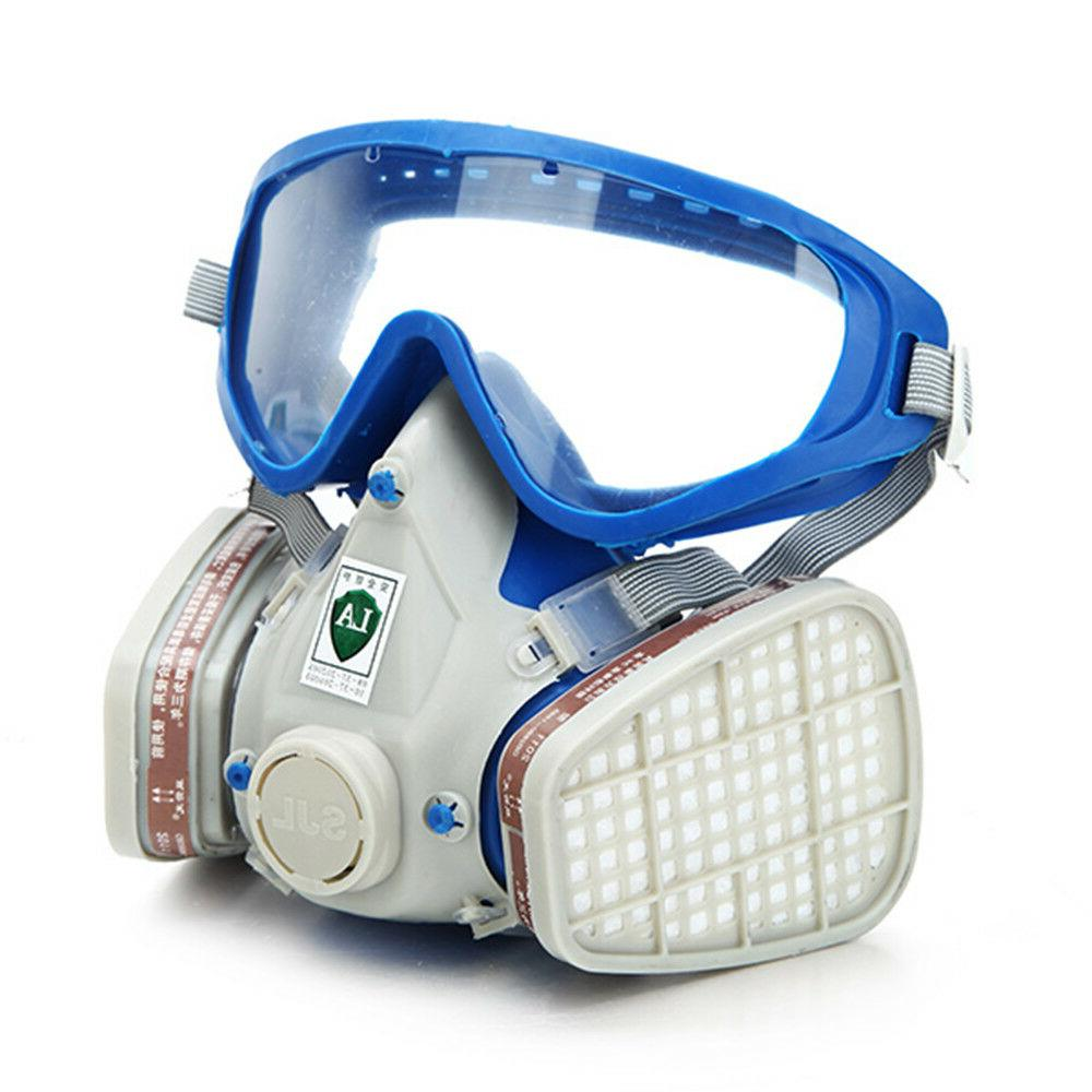 Full Face Goggles spraying Double