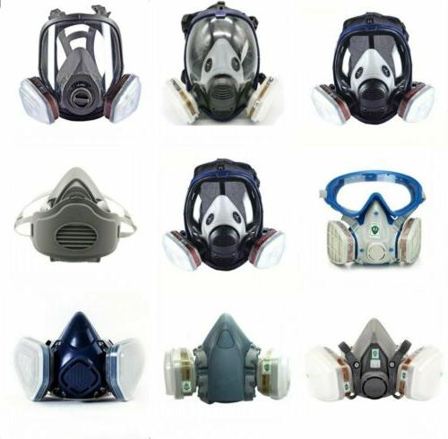 full half face gas mask respirator painting