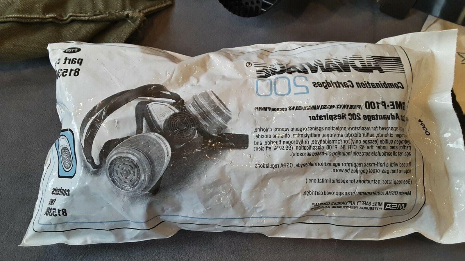 GAS 3M 7800S Respirator Full SIZE FILTERS