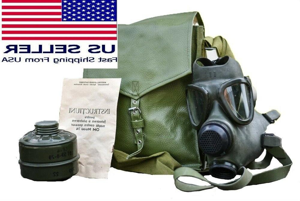 military new nos surplus gas mask face