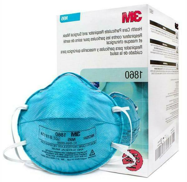 n95 1860 health care particulate respirator surgical