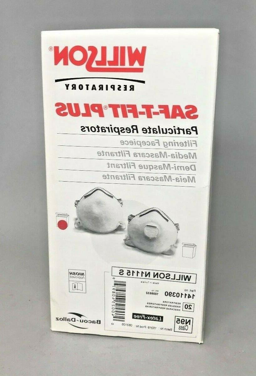 n95 n1115 particulate respirator masks pack of